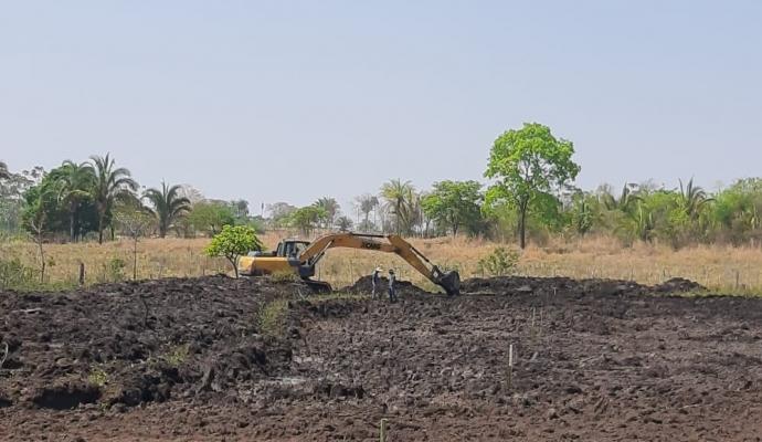Glória D'Oeste Sedia Curso de Construção de Viveiros Escavados e Monitoramento da Água