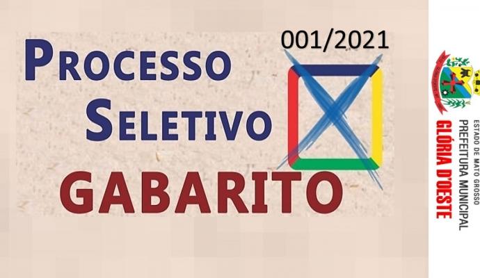 EDITAL COMPLEMENTAR 10/2021 - DIVULGAÇÃO GABARITO PRELIMINAR